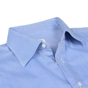 Luigi Borrelli Dress Shirt Size 41 - Blue