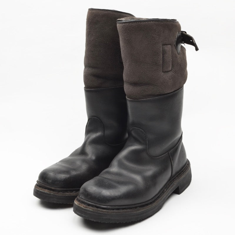 Ludwig Reiter Maronibrater Boots Size 3 1/2 - Black & Grey