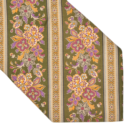 Brooksfield Cotton Print Tie - Floral