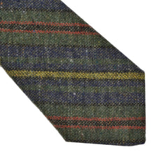 Load image into Gallery viewer, Glenshane Donegal Tweed Wool Tie - Striped