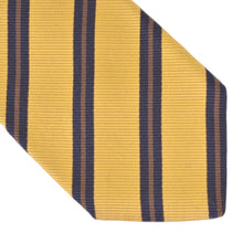Load image into Gallery viewer, Franco Bassi Cotton Silk Striped Tie