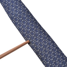 Load image into Gallery viewer, Hermès Paris Silk Tie 7299 EA - Navy