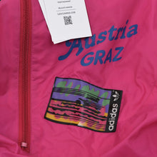 Load image into Gallery viewer, Vintage '80s Adidas Packable Nylon Rain Jacket - Fuchsia