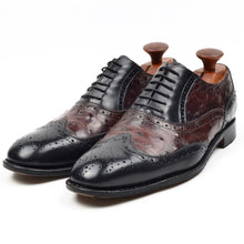 Load image into Gallery viewer, Salvatore Ferragamo Tramezza Torrent 2 Ostrich Shoes - Size 7EEE