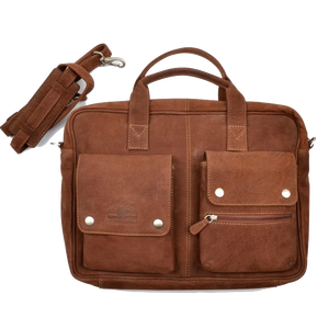 GreenLand Nature Buffalo Softsided Briefcase/Laptop Bag