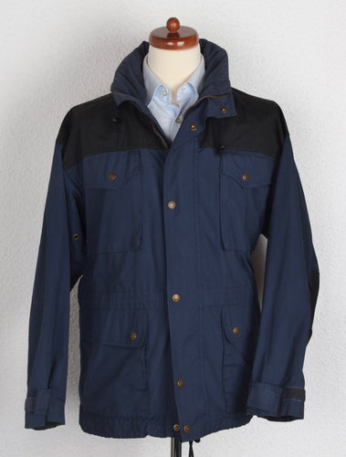 Fjällräven Outdoor Jacket Size M/S - Navy/Black