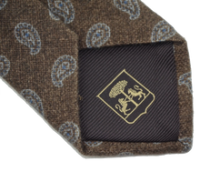 Load image into Gallery viewer, Pure Cashmere Tie by Cornleliani - Paisley