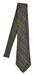 Glenshane Donegal Tweed Wool Tie - Striped