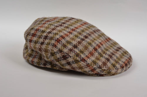 Lock & Co. Tweed Flat Cap/Hat - Gun Club