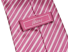 Load image into Gallery viewer, Brioni Striped Tie - Pink