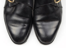 Load image into Gallery viewer, Barker Single Monk Shoes Size 8F - Black
