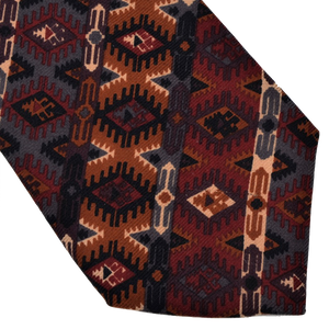 Liberty of London Wool Tie - Aztec