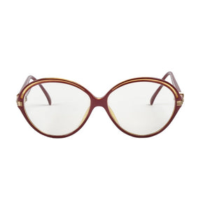 Vintage Christian Dior 2308 Frames - Red
