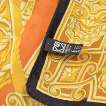 Load image into Gallery viewer, Barocco Chariot 87cm Silk Scarf - Gold
