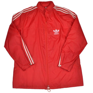 Vintage '80s Adidas Jogging/Warm Up Suit Size 56 - Red
