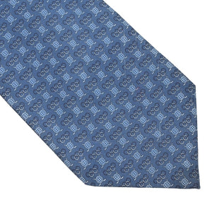 Ermenegildo Zegna for IIHF Hockey Silk Tie - Blue