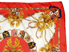 Load image into Gallery viewer, Pierre Cardin Regal Print Silk Scarf
