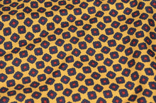 Load image into Gallery viewer, Anonymous Handrolled Geometric Silk Pocket Square - Red, Yellow, Blue