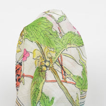 Load image into Gallery viewer, Anonymous Handrolled Cotton Pocket Square - Nature Print