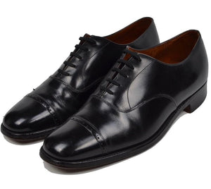 Church's Cap Toe Shoes Size 6.5F - Black