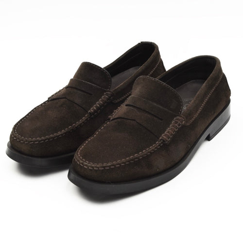 Tod's Suede Loafers Size UK 7 - Chocolate Brown
