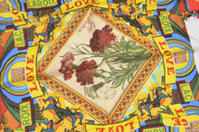 Load image into Gallery viewer, Christian Lacroix Printed Silk Scarf - Roses