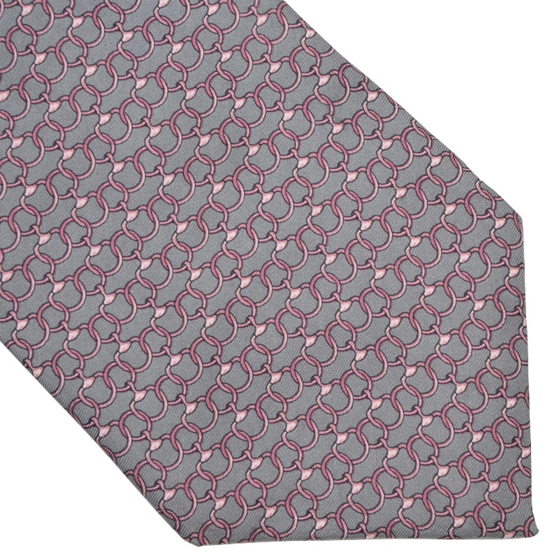 Brooks Brothers Printed Silk Tie - Chains