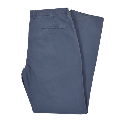 Brunello Cucinelli Cotton Pants Size 56 - Blue