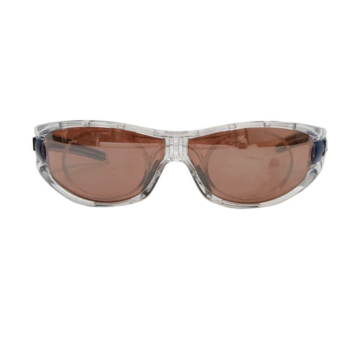 Adidas A127 6079 Evil Eye Sunglasses - Transparent/Blue