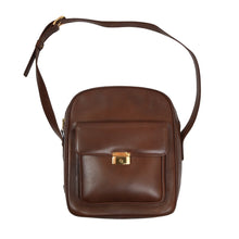 Load image into Gallery viewer, Vintage Leather Shoulder/Camera Bag - Brown