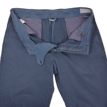 Load image into Gallery viewer, Brunello Cucinelli Cotton Pants Size 56 - Blue