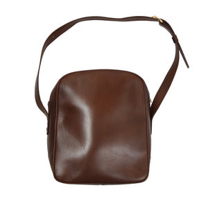 Vintage Leather Shoulder/Camera Bag - Brown