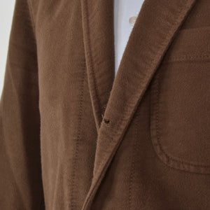 Polo Ralph Lauren Brushed Cotton Jacket Size 40R - Brown
