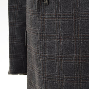 House of Gentlemen Super 100s Jacket Size 29 - Grey Plaid