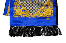 Load image into Gallery viewer, Vintage Atelier Versace Double-Sided Scarf Silk & Wool