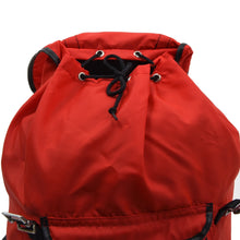 Load image into Gallery viewer, Vintage Kamarg Nylon Rucksack - Red & Black