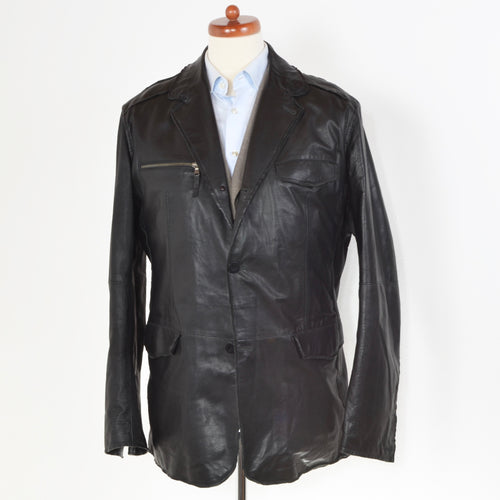 Gimo's Leather Jacket Size 56 - Black