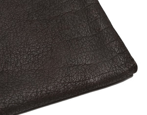 Buffalo Leather Document Holder/Portfolio - Brown