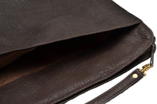 Load image into Gallery viewer, Buffalo Leather Document Holder/Portfolio - Brown