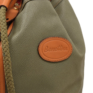 Benetton Shoulder Duffle Bag - Green