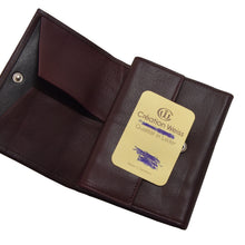 Load image into Gallery viewer, Creation Weiss Buffalo Leather Wallet - Burgundy
