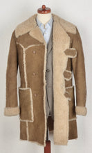 Load image into Gallery viewer, Friitala Shearling Coat Size 52 - Tan