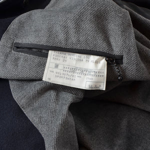 Corneliani Wool Car Coat Size 52 - Navy
