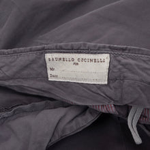 Load image into Gallery viewer, Brunello Cucinelli Cotton Pants Size 56 - Dark Blue-Grey