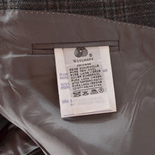 Load image into Gallery viewer, House of Gentlemen Super 100s Jacket Size 29 - Grey Plaid