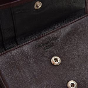 Creation Weiss Buffalo Leather Wallet - Burgundy