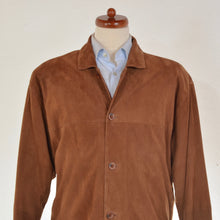 Load image into Gallery viewer, Suede Jacket Size 52 - Tobacco Brown