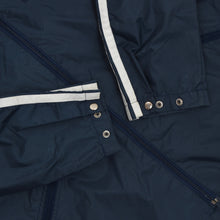 Load image into Gallery viewer, Vintage '80s Adidas Nylon Rain Jacket Size D40 USA M - Navy Blue