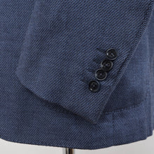Load image into Gallery viewer, Recent Ermenegildo Zegna Cotton/Rayon/Cashmere Jacket Size 54 - Blue