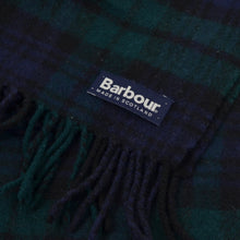 Load image into Gallery viewer, Barbour Wool Scarf - Blackwatch